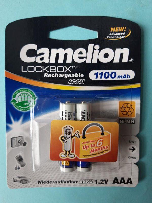 Pin sạc AAA Camelion 1100 mAh chính hãng Đà Nẵng