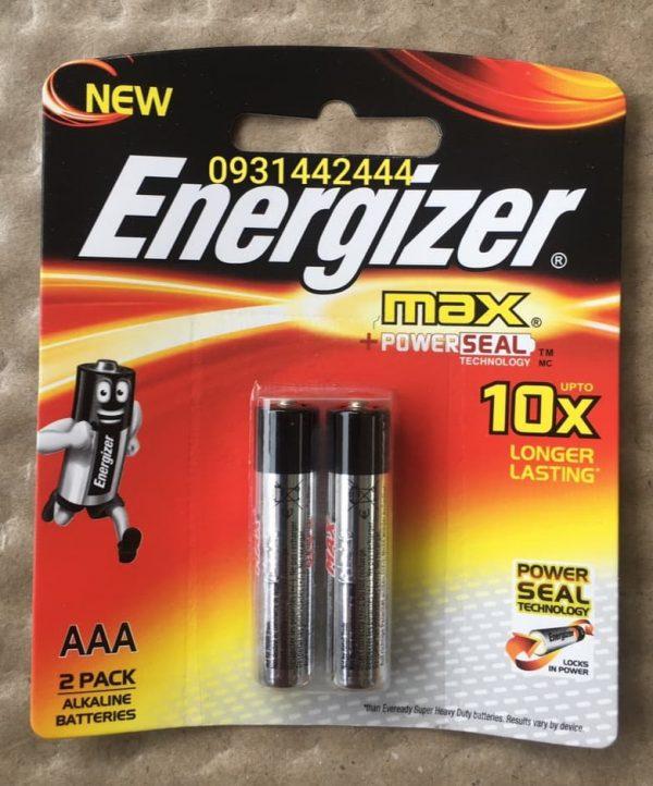 Pin AAA Energizer Max E92 BP2 vỉ 2 viên Đà Nẵng