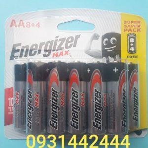 Pin Energizer AA Max E91 BP8+4 vỉ 12 viên Đà Nẵng